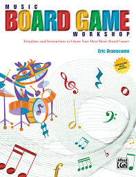 music board game workshop templates and instructions to create