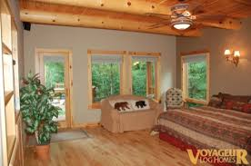 beauty by nature performance by us voyageur log homes
