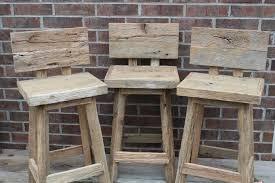 Unique Bar Stools by Furniture Unique Rustic Bar Stools Design With Brick Wall Design