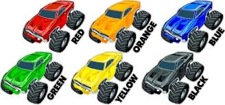 color monster truck stickers peel stick monster car decals