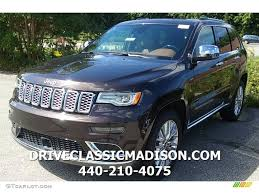 jeep summit 2017 2017 luxury brown pearl jeep grand cherokee summit 4x4 115591139
