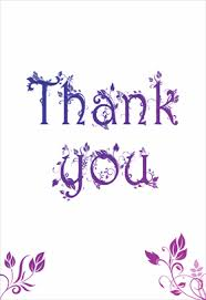 thank you photo cards decorated words picture thank you cards impressive purple color