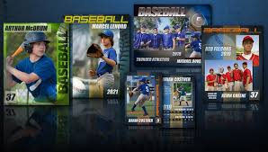 14 baseball card psd template images photoshop templates sports
