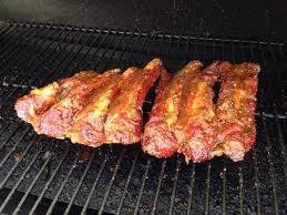 Country Style Ribs On Traeger - smoking some beef ribs on the traeger so far looking good smoking