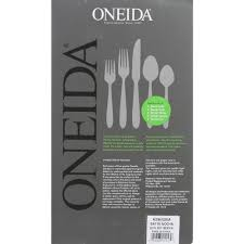 oneida nocha piece brushed stainless steel flatware set oneida nocha piece brushed stainless steel flatware set the home depot