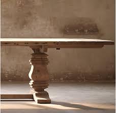 salvaged wood salvaged wood beam rectangular extension table
