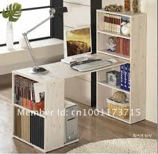 incredible desk and bookshelf combination desk bookcase combo