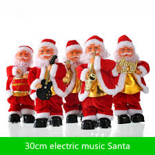 new christmas gifts christmas music old man 30cm electric dancing