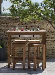 Patio Bar Table Custom Outdoor Bar Table With Foot Rail Lockable Castors And