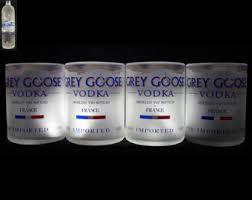 Grey Goose Gift Set Grey Goose Glasses Etsy