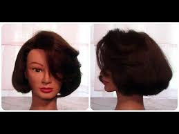 how to cut hair so it curls under with no heat cut classic bob