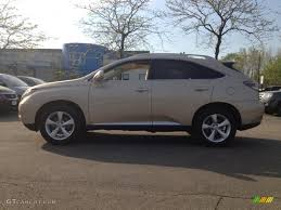 gold lexus rx 2010 golden almond metallic lexus rx 350 awd 63871626 gtcarlot