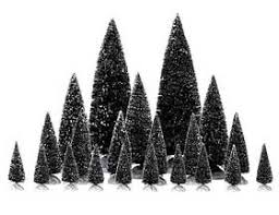 miniature christmas trees and how to make model evergreen trees and miniature
