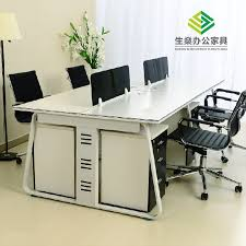 Quality Computer Desk Desk Screen Card Staff Office Desk High Quality Sichuan Yaan