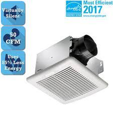bathroom exhaust fan 50 cfm delta breez greenbuilder series 50 cfm ceiling bathroom exhaust fan