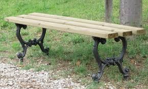 panchine da giardino in ghisa panca in ghisa giardino e parco mirella legno pino 4003 pino