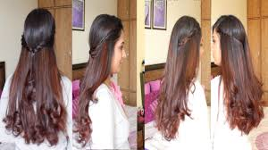 4 simple u0026 easy diy hairstyles hairstyle tutorial youtube