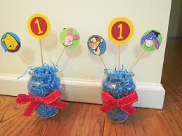 Classic Pooh Baby Shower Favors Photo Minimalis Diy Baby Shower Image