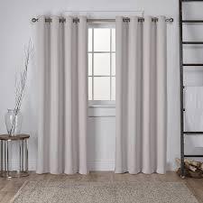 How To Measure For Grommet Curtains Viv Rae Tamara Solid Room Darkening Grommet Curtain Panels