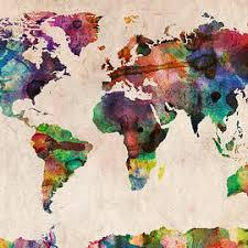 america in world map world map america