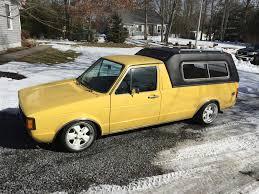 volkswagen rabbit truck 1982 vwvortex com 81 lx rabbit pickup diesel slammed