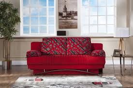 fantasy red sofa bed sufantasy sunset furniture sleepers sofa
