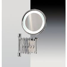 bathroom makeup mirror wall mount makeup mirrors bathroom the home depot in wall mounted lighted