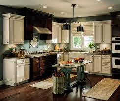 contrasting kitchen cabinets fresh home kitchens