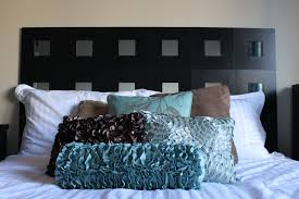 bed headboard ideas bedroom amazing decorative diy upholstered headboard of at ideas