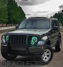 2002 jeep liberty fog lights 2002 2004 jeep liberty plasma fog light halo kit by oracle