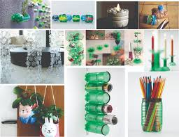 home decor accessories creative ideas of recycled plastic bottles