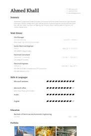Salon Manager Resume Site Manager Resume Samples Visualcv Resume Samples Database