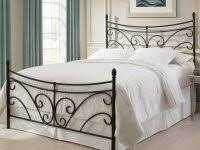 Paint Metal Bed Frame Chalk Paint Metal Bed Frame Shabby Chic Bedroom Black Iron With