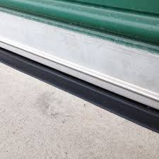 Exterior Door Rain Deflector by Garage Door Threshold Xtreme Weather Guard Garage Door Threshold