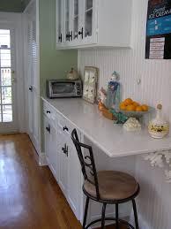 Cottage Kitchen Cupboards - 1930s cottage kitchen cupboard u0026 counter interior design idea in