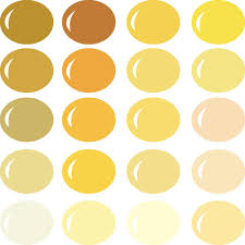 shades of yellow invue color palette shades of yellow pazzles craft room