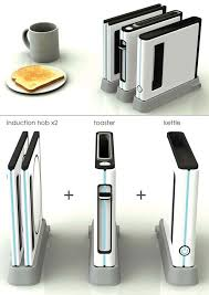 designer toaster space saving kitchen range modular kitchen appliance by shin