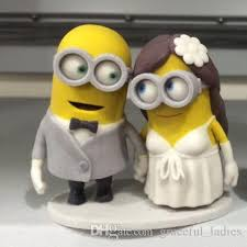 Funny Wedding Cake Toppers Minion Wedding Cake Topper Wedding Cakes Wedding Ideas And