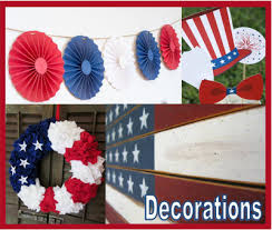 patriotic decorations patriotic party decorations from etsy daily party dish