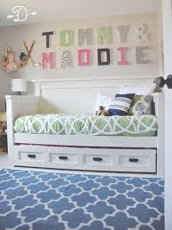White Daybed With Trundle Best 25 Kids Daybed Ideas On Pinterest Childrens Bed Canopy