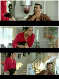 Bollywood Meme Generator - lifebouy ad ajay devgn kajol and kid meme template meme yatra