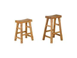 saddle seat bar stools espresso