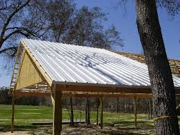 How To Build A Pole Shed Roof by Pole Barn Construction Basics