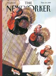 new yorker cover bush rudy macy s thanksgiving