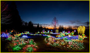 Botanical Garden Bellevue Sunset At Bellevue Botanical Garden Lights The Annual Ligh Flickr