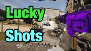 rainbow six seige so much lucky knives wallbangs 1 tap kills and