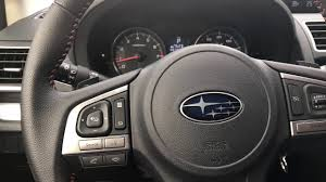 subaru crosstrek adjust adjust steering wheel how to youtube