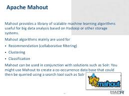 pattern analysis hadoop big data analysis patterns with hadoop mahout and solr