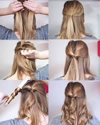 ideas about half up half down hairstyles easy cute hairstyles