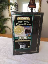 photo album that holds 1000 pictures thompson 2 pack bonded leather high capacity photo albums 1000